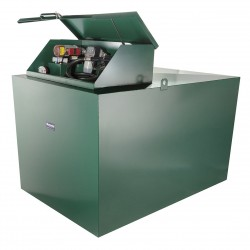 1300 litre steel bunded diesel dispensing tank