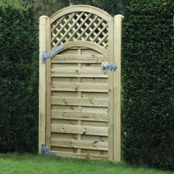 Garden Gate ALTG180 Arched Lattice Top