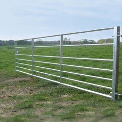 8ft ashbourne galvanised gate