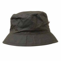 Barbour Mens Wax Sports Hat Olive