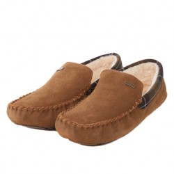 Barbour Monty Camel Indoor Slippers