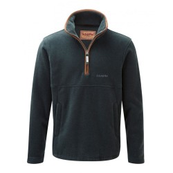 Schoffel Berkeley 1/4 Zip Fleece - Kingfisher