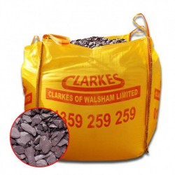 Plum Slate Decorative Stone Bulk Bags
