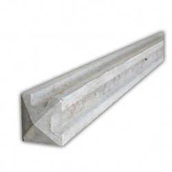 9ft Corner Concrete Slotted Post