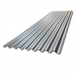 8ft Galvanised Steel Corrugated Roof Sheet