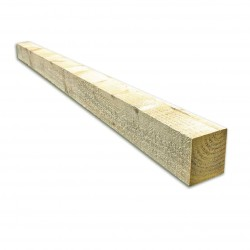 Timber Fence Post 1.5M x 75MM X 75MM Green Treated