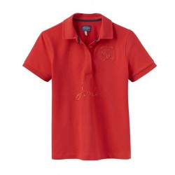 Joules Amity Red Polo Shirt Top