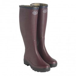 Le Chameau Womens Cherry Giverny Wellington Boots