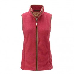Schoffel Lyndon Ladies Fleece Gilet Rasberry