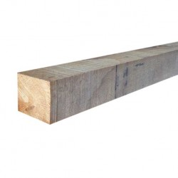 1800mm x 75mm x 75mm oak post