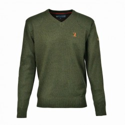 Percussion Hunting Shooting V-Neck Jumper