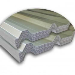 Plastisol Box Profile Roofing Sheet 7ft