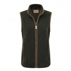 Schoffel Lyndon Womens Fleece Gilet in Forrest