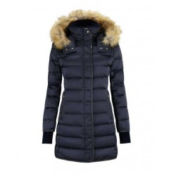Schoffel Ladies Mayfair Down Navy Coat