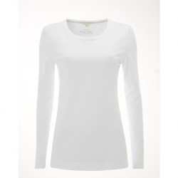 White Stuff Brushed White Plain Layer Jersey Tee
