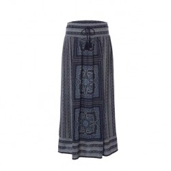 White Stuff Milena Maxi Print Border Skirt