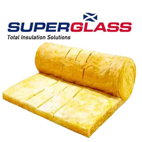 Loft insulation multi roll 200mm Superglass