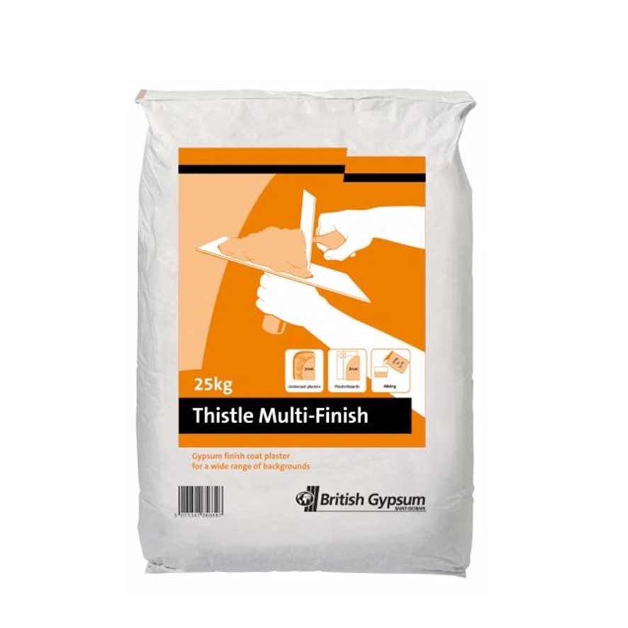 Thistle Multi Finish Plaster 25kg