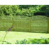 Garden Fence Panels ALT180 Lattice Top