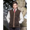 Schoffel Oakham Fleece Gilet in Dark olive