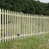 Round Top Picket Fence Panel 1200mm High