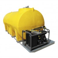 Pressure Washer 1200L Industrial Transportable Petrol Engine