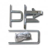Galvanised  Auto Catch with Stricker Kit