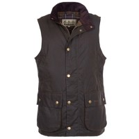 Barbour Olive Westmorland Wax Gilet