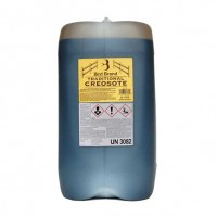 Traditional Dark Brown Creosote  25 Litres