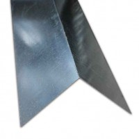 Galvanised Corner Flashing 1.829m X 180mm x 180mm Wing 24g