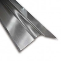 Galvanised Roll Top Roofing Ridge 1.8m X 130mm x 130mm Wing 24g