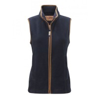 Schoffel Lyndon Womens Fleece Gilet in Navy