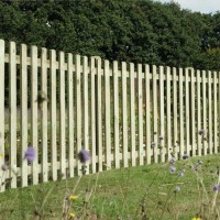 Picket Fence Panel Round Top 1200mm X 1830mm