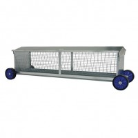 Portable Sheep Hayrack on Wheels 2440mm