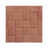 50 x Red Ready Drive Paving Blocks 200mm x 100mm x 50mm