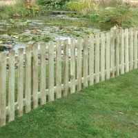 Picket Fence Panel Round Top 900mm X 1800mm