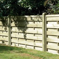 Square Horizontal Garden fence Panel SH90  1800MM X 900MM
