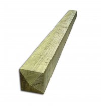 2.1mtr x 175mm  X 175mm Timber Gate Posts Four Way Weathered Sawn