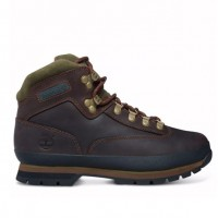 Timberland Brown Leather Eurohiker Boots