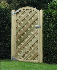Arched Madrid Garden Gate 1800mm x 900mm
