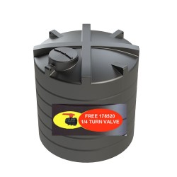 172122 enduramaxx 10000l water tank with valve