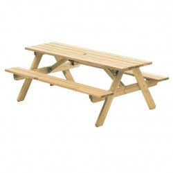 Alexander Rose Woburn Garden Picninc Table 6ft