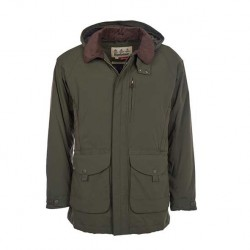 Barbour Bransdale Waterproof Forest Green Jacket