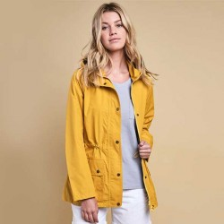 Barbour Cirruss Canary Yellow Waterproof Jacket