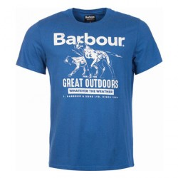 Barbour | Clothing | Jackets | Mid Blue Companion T-Shirt