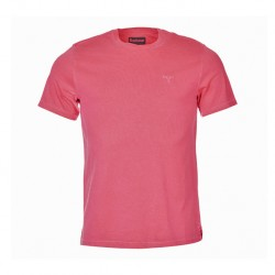 Barbour Garment Dyed Tee Fuscia