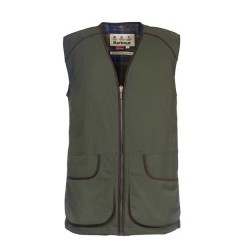 Barbour Sporting Knot Gilet  in Green Waterproof and breathable fabric , ideal Clay and Game Shooting Gilet.
