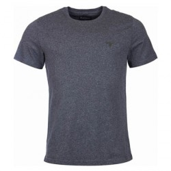 Barbour | Clothing - Tees - Barbour Marl Grey Sports T-Shirt