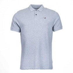 Barbour Grey Warkworth Polo Top