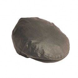 Barbour Flat Wax Olive Cap